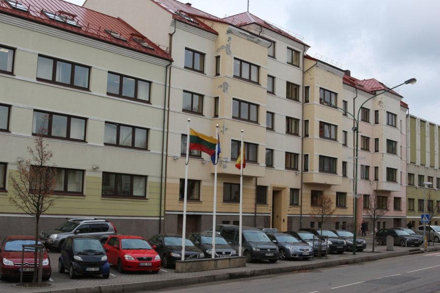 Klaipėdos miesto savivaldybės pastatas Liepų gatvėje