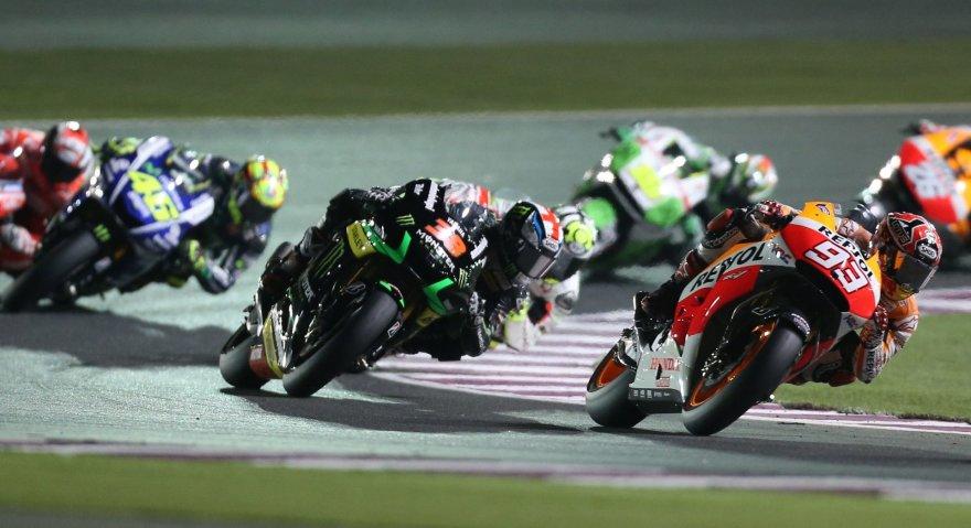 """""""Moto GP"""" lenktynės Katare"""