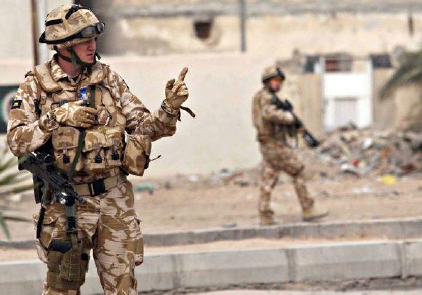 Britų karys