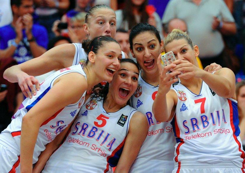 Serbijos moterų krepšinio rinktinė