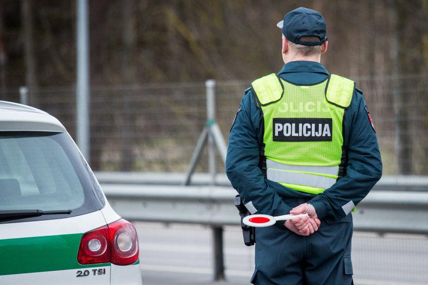 Kelių policijos reidas