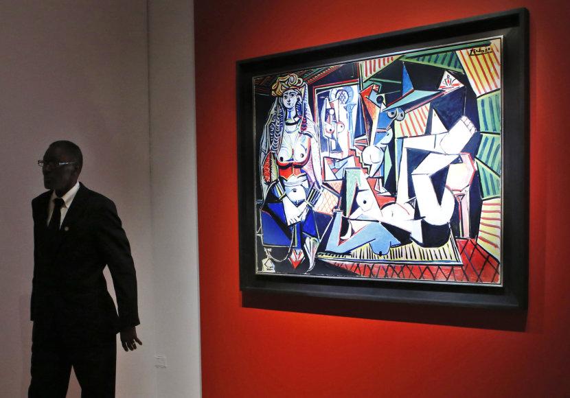 Aukcionas dėl Pablo Picasso paveikslo