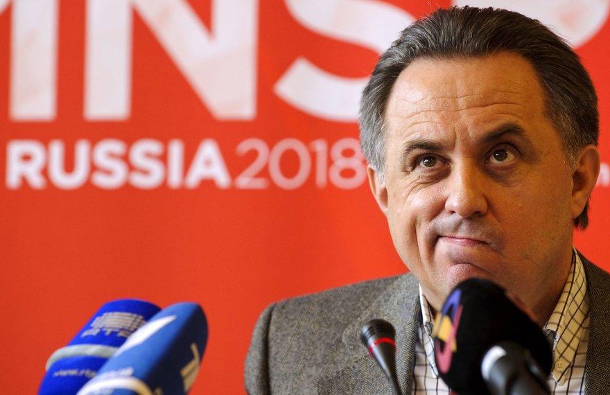 Rusijos sporto ministras Vitalijus Mutko tikina, kad ir 2020 metais Europos futbolo čempionatas vyks Rusijoje
