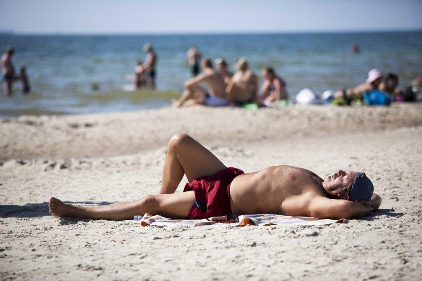 Paplūdimys Monciškėse