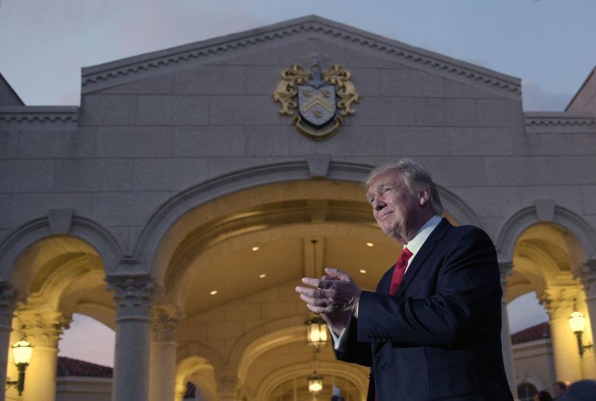 JAV prezidentas Donaldas Trumpas.
