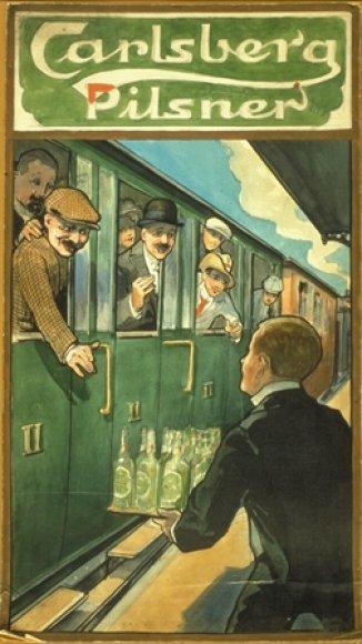 """1904 metais buvo pradėtas gaminti šiuo metu pasaulyje žinomiausias ir populiariausias """"Carlsberg"""" alus – """"Carlsberg Pilsner""""."""