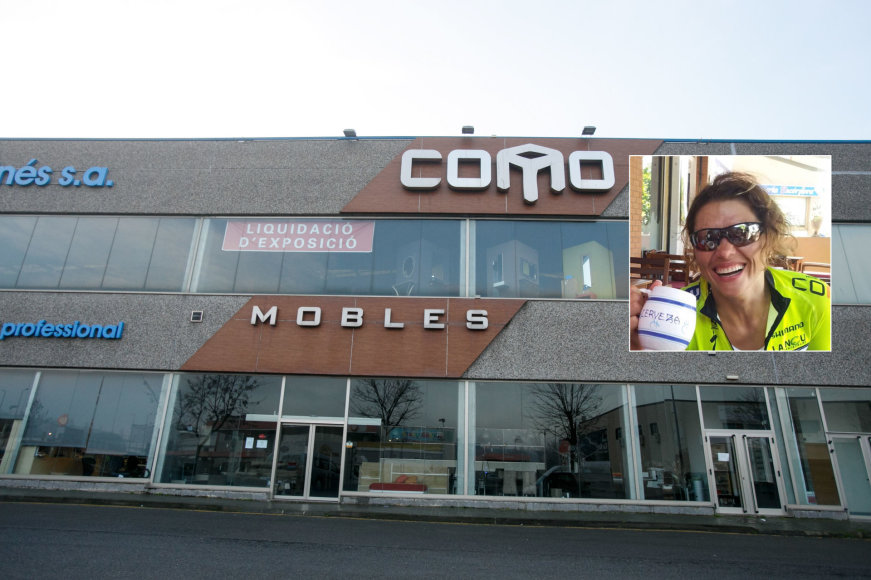 Ramūno ir Linos Karbauskų baldų parduotuvė Ispanijoje