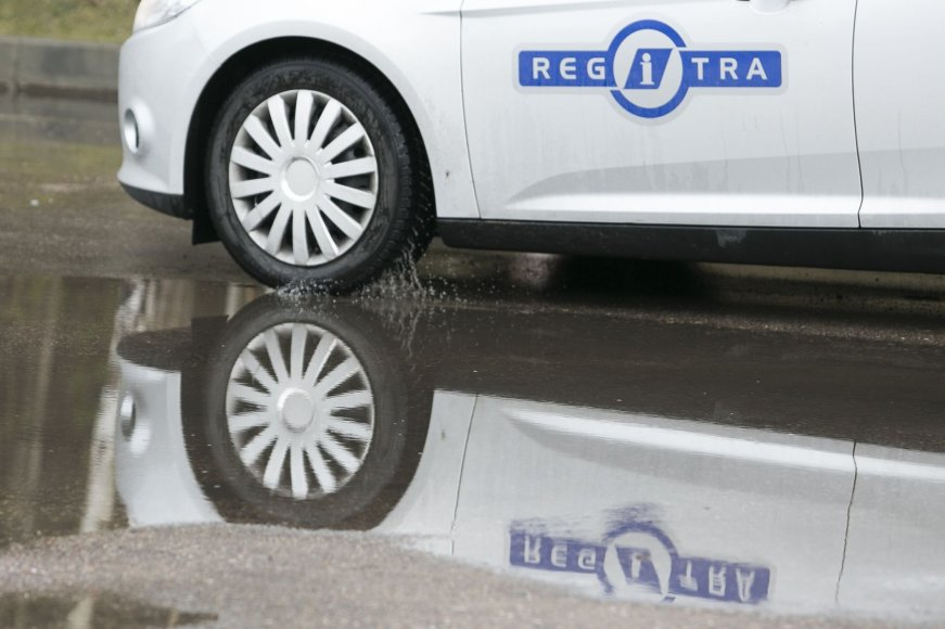 """Regitros"" praktinio B kategorijos egzamino automobiliai - ""Ford Focus"""