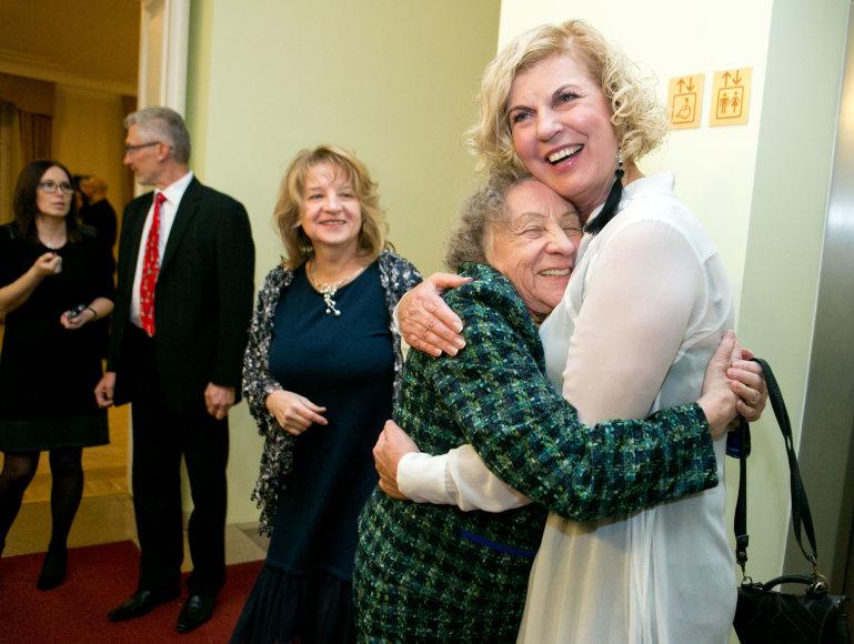 Gretos Skaraitienės/Žmonės.lt nuotr./Regina Varnaitė ir Nijolė Narmontaitė