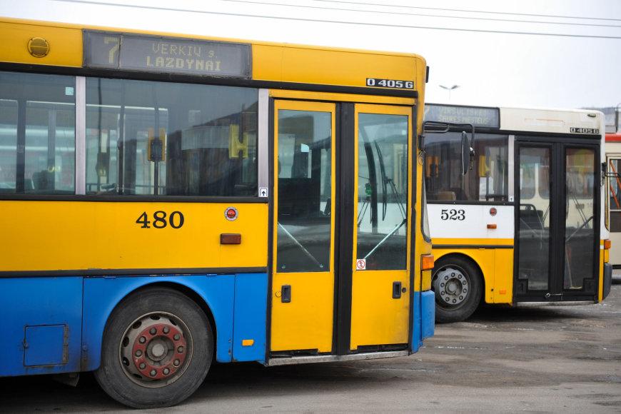 Žygimanto Gedvilo/15min nuotr./Vilniaus viešasis transportas