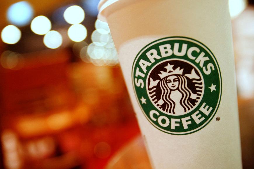 """""""Starbucks"""" gėrimo puodelis"""