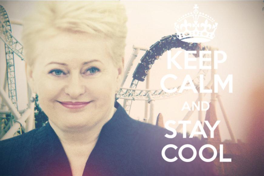 """Jei Dalia Grybauskaitė naudotųsi """"Instagram"""""""