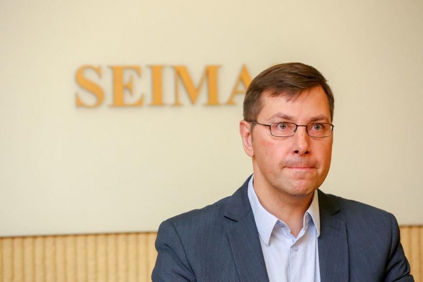 Gintaras Steponavičius susitinka su Seimo Pirmininku