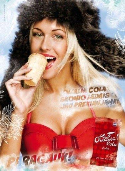 """Oksana Pikul-Jasaitienė """"Olialia"""" reklamoje"""