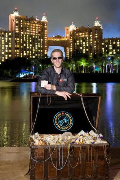Bertrandas Grospellieris po triumfo PCA / PokerStarsBlog.com nuotr.