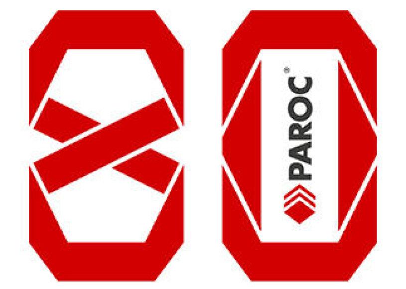 """""""Paroc"""" švenčia 80 metų jubiliejų"""