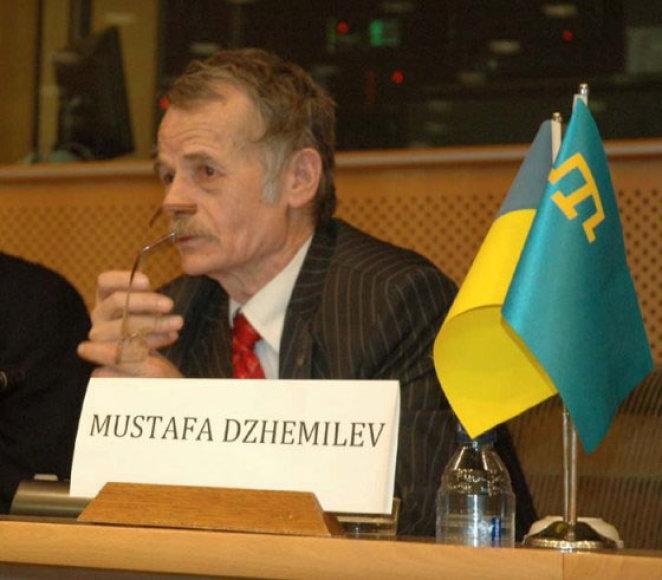 Krymo totorių politikas Mustafa Cemilevas