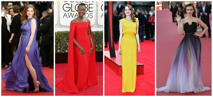 Įspūdingiausios 2014-ųjų raudonojo kilimo suknelės