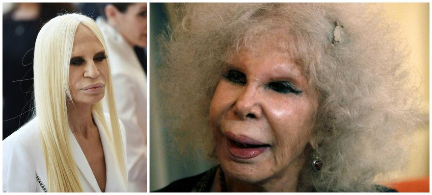 Donatella Versace ir Albos kunigaikštienė