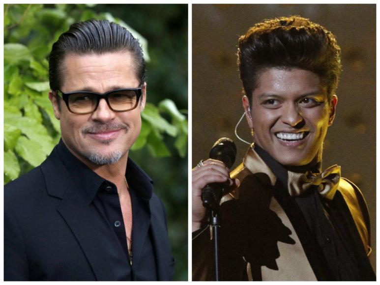 Bradas Pittas ir Bruno Marsas