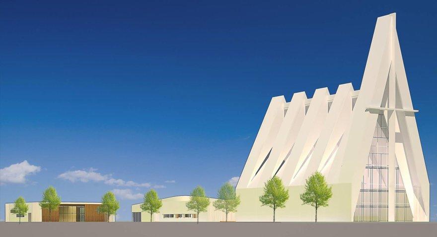 Naujos bažnyčios statybos pradžia Šilainiuose
