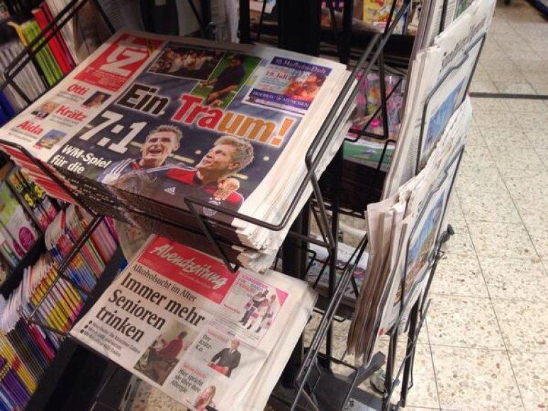 Vokiečių spauda