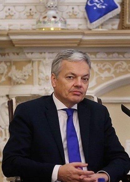 Belgijos užsienio reikalų ministras Didier Reyndersas