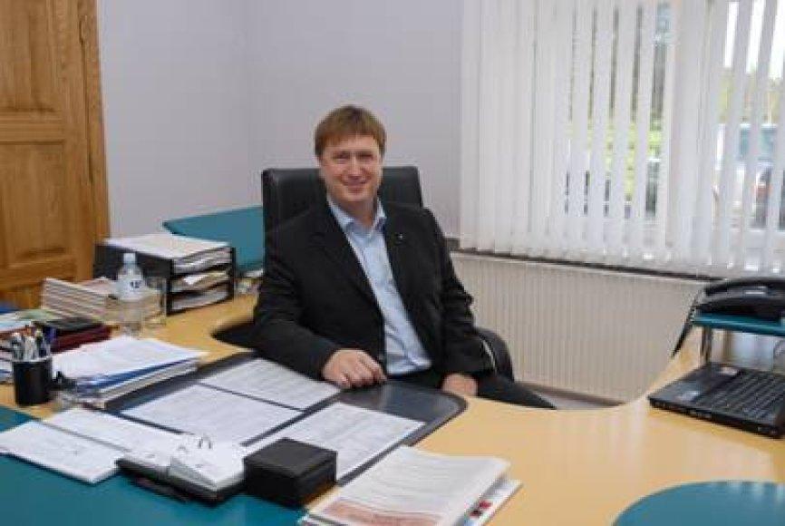 Šilutės ligoninės vyriausiasis gydytojas Darius Steponkus