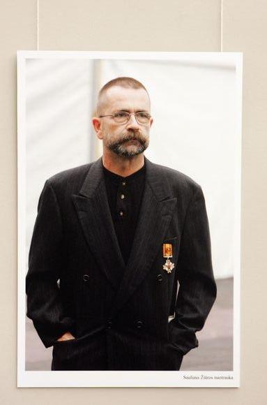 Spaudos fotografų įamžintas Vytautas Kernagis