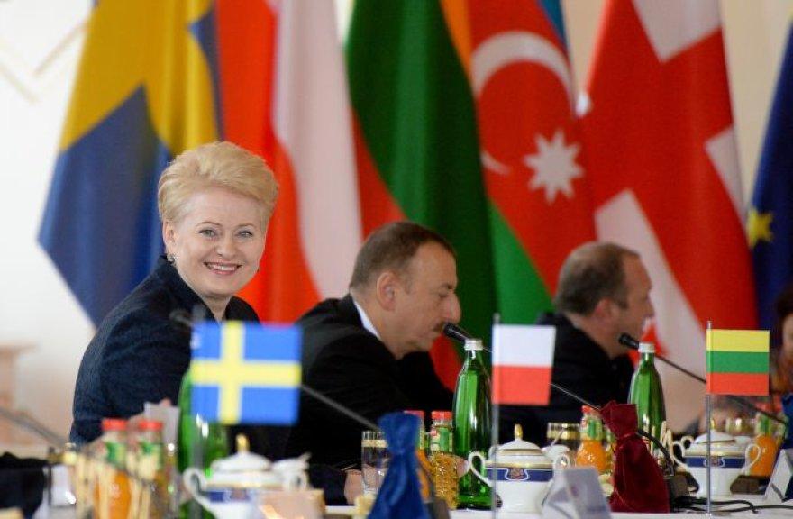 Dalia Grybauskaitė Rytų partnerystės šalių vadovų susitikime