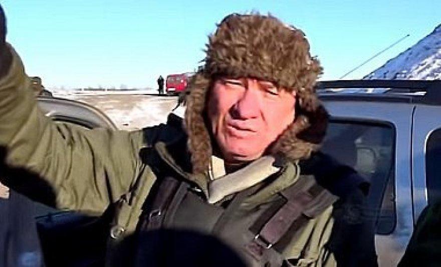 Milicininku apsimetęs Rusijos generolas Aleksandras Lencovas