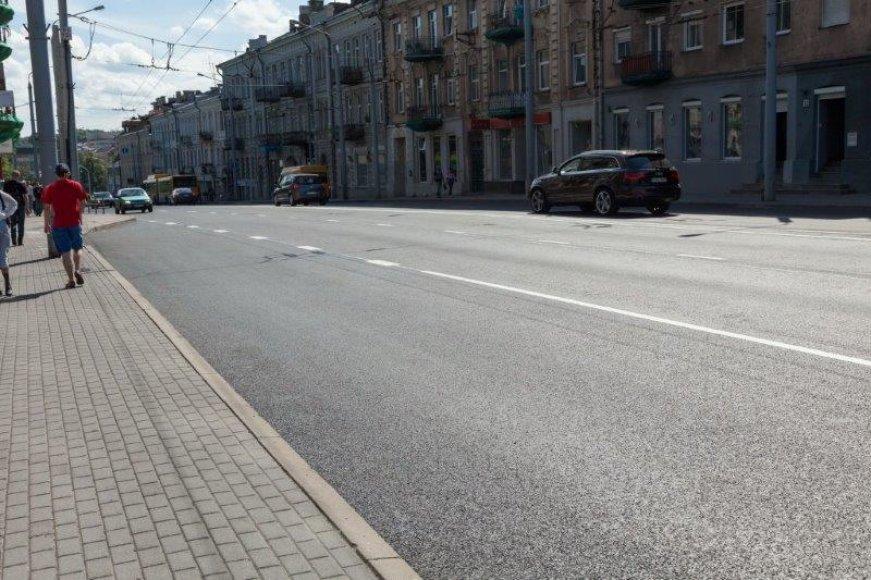 Sutvarkytos Vilniaus gatvės