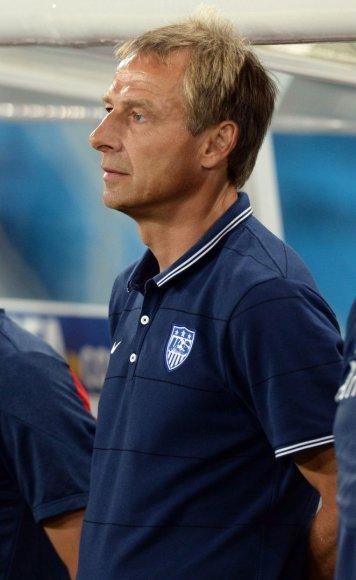JAV futbolo rinktinės treneris Juergenas Klinsmannas