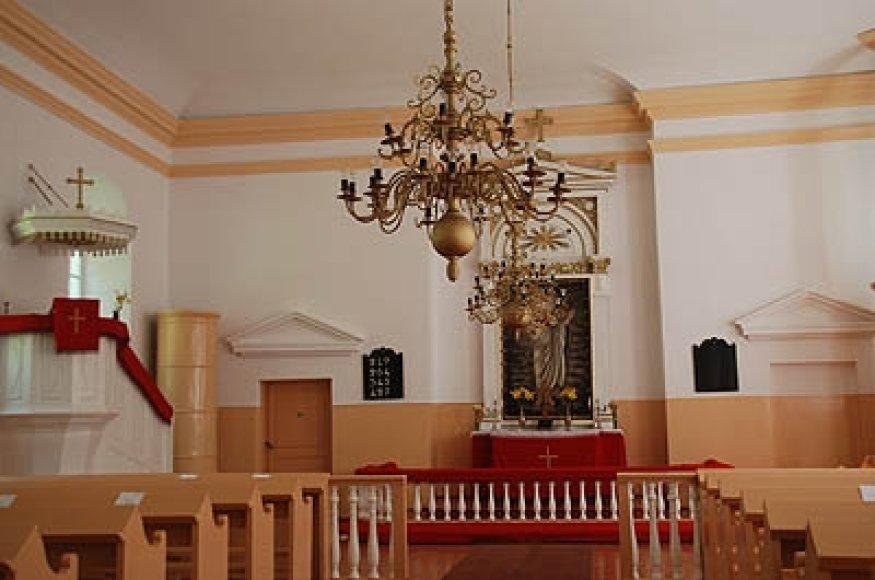 Liuteronų bažnyčia atmetė šventųjų paveikslų garbinimą ir perdėtą bažnyčių puošybą