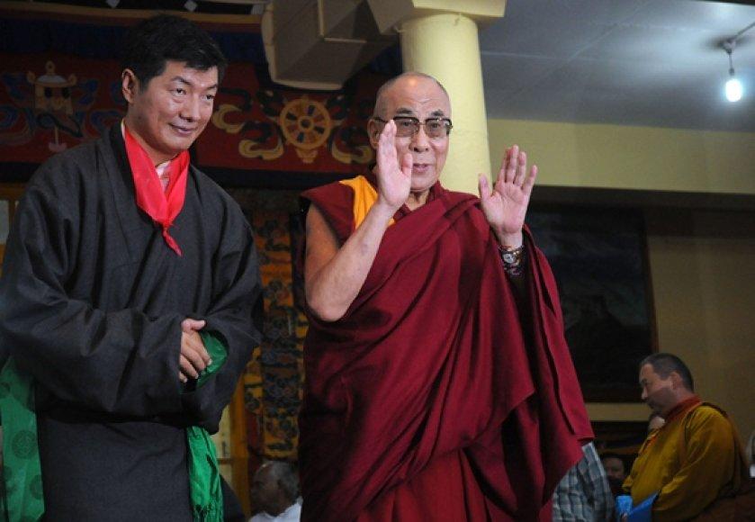 Lobsangas Sangay ir Dalai Lama