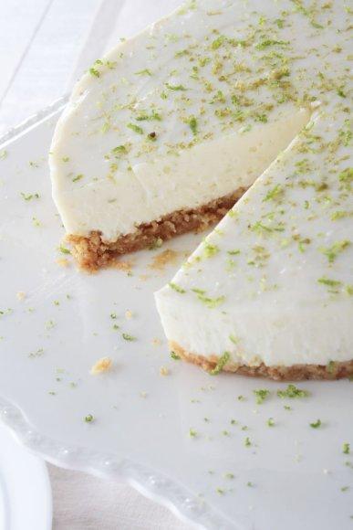Lengvai paruošiamas tortas su žaliąja citrina