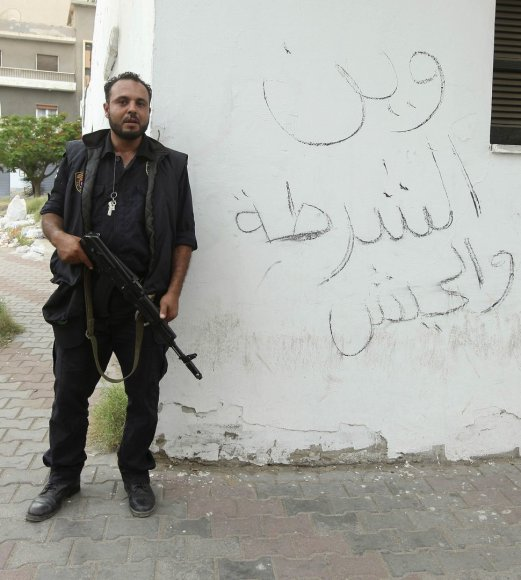 Pareigūnas Libijoje