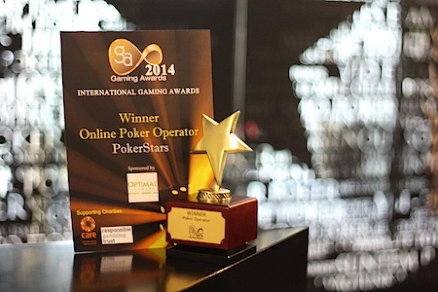 """""""Pokerstars"""" sulaukė apdovanojimo"""