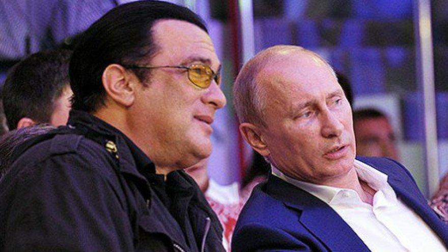 V.Putinui lojalus aktorius Stevenas Seagalas