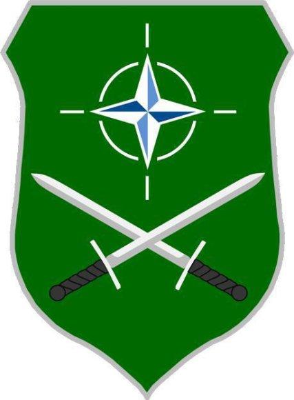 Sąjungininkų Sausumos pajėgų vadavietės emblema