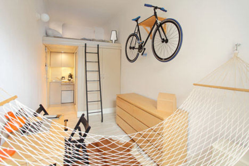 13 kv. metrų butas Lenkijoje