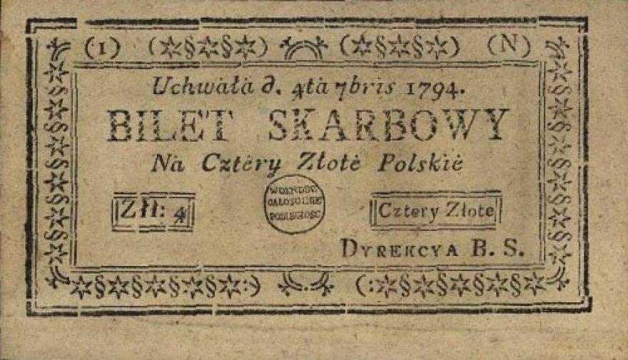 Pirmieji Lietuvos ir Lenkijos popieriniai pinigai