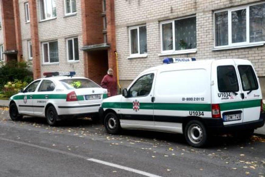 Policijos pajėgos nusikaltimo vietoje
