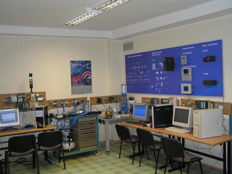 Procesu valdymo katedros laboratorija