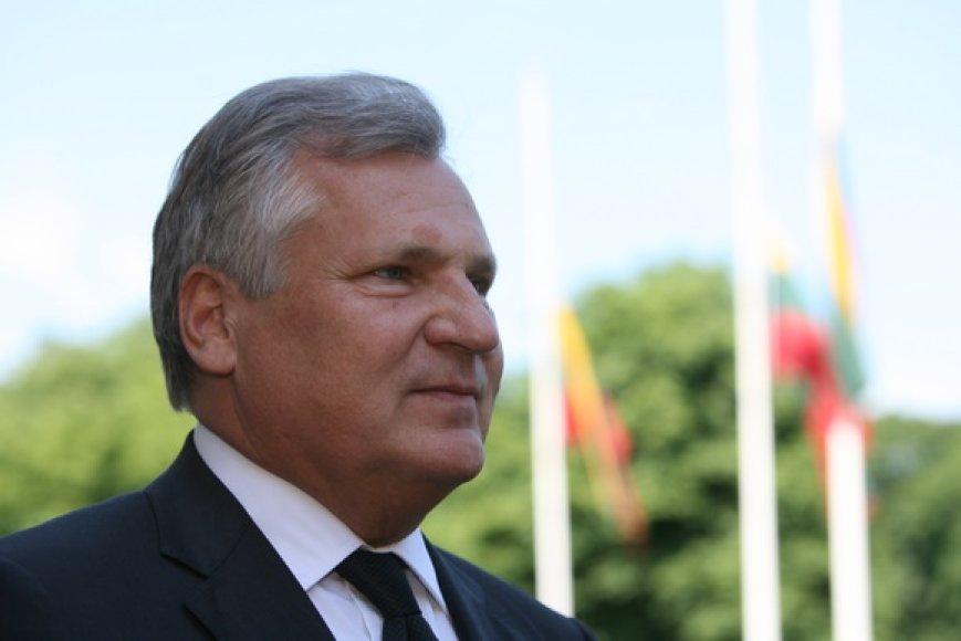 Buvęs Lenkijos prezidentas Aleksandras Kwasniewskis