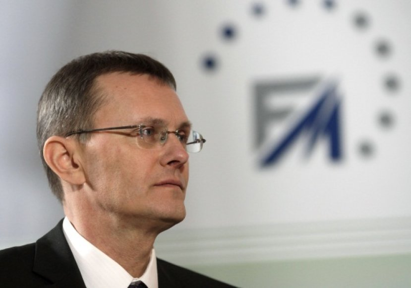 Latvijos finansų ministras Andris Vilkas