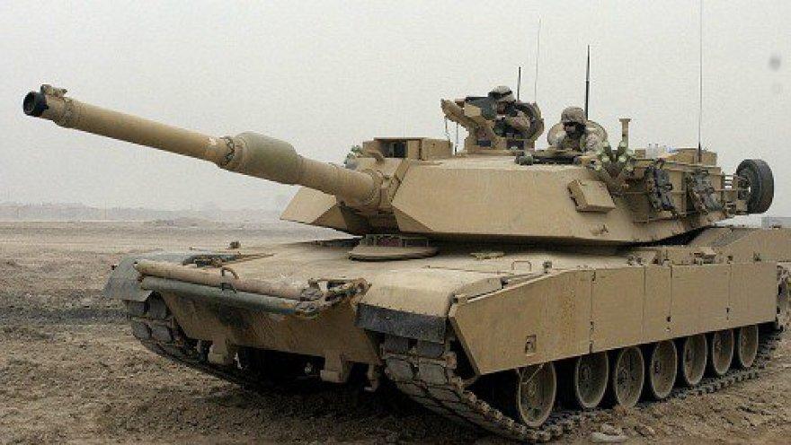 """JAV tankas """"Abrams"""""""
