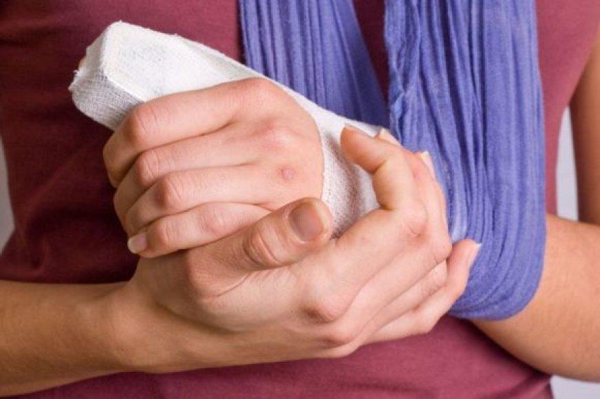 Sulaužyta ranka