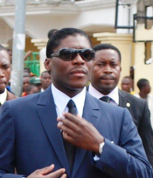Pusiaujo Gvinėjos vyriausybės archyvo nuotr./Teodoro Nguema Obiangas Mangue