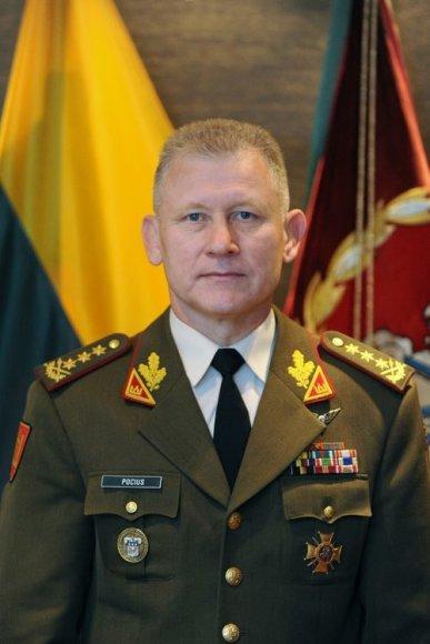 Kariuomenės vadas Arvydas Pocius